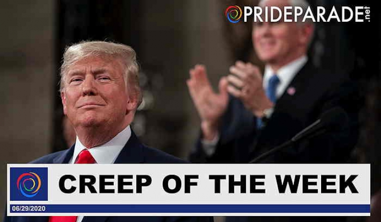 Creep Of The Week: Donald Trump