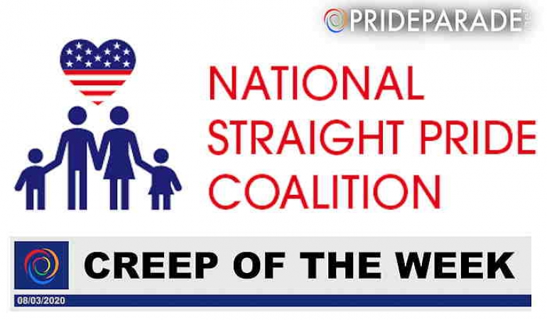 Creep Of The Week: National Straight Pride Coalition