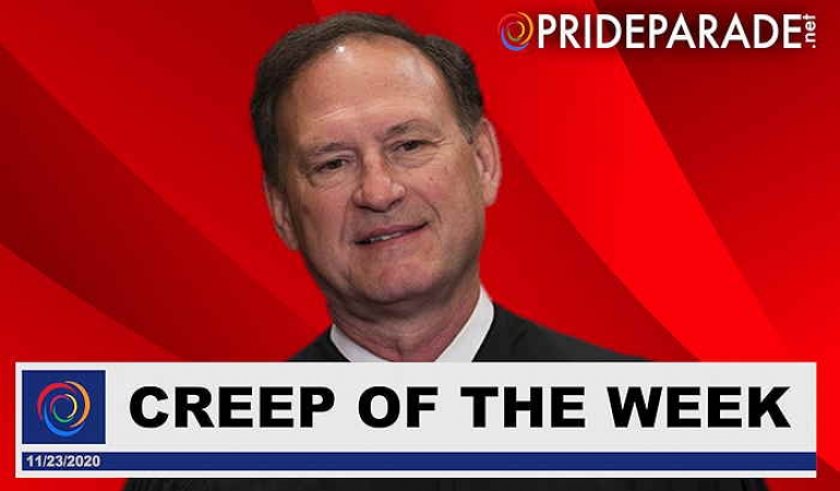 Creep Of The Week: Samuel Alito