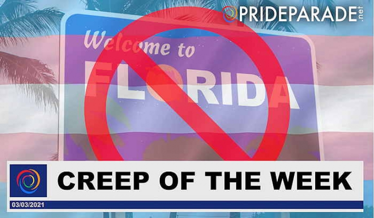 Creep Of The Week: Florida's Anti-Trans Athlete Law